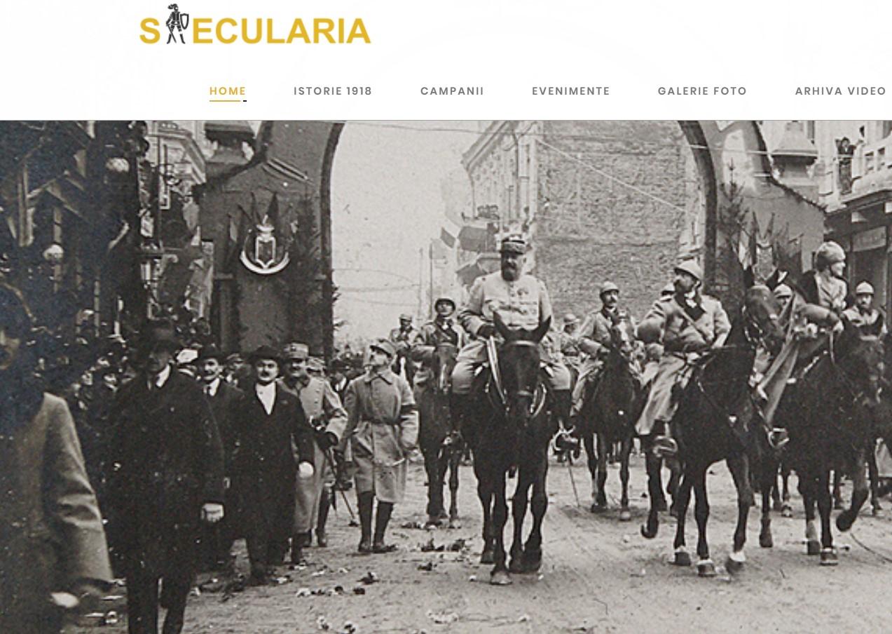 Rara avis! Saecularia.ro – o platformă de maximă calitate dedicată Centenarului Marii Uniri