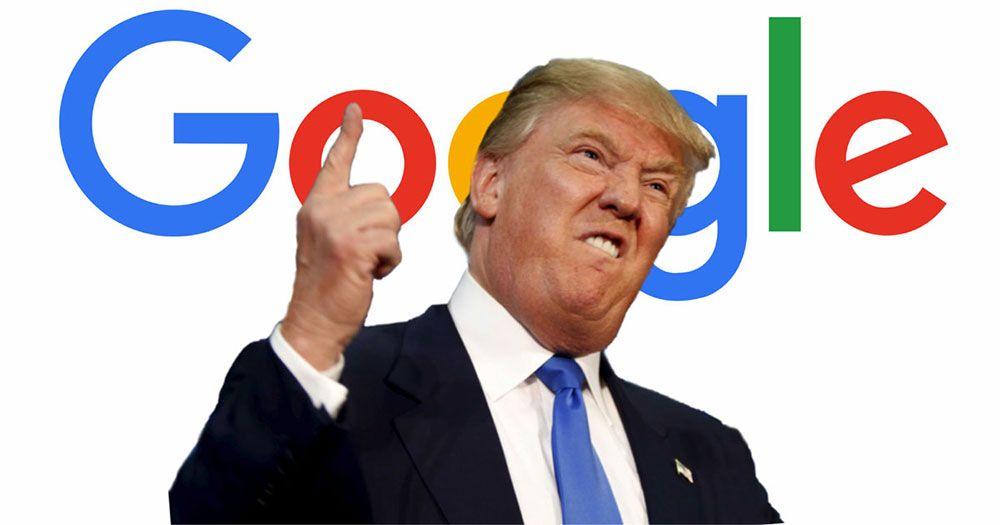 Acuzațiile lui Trump la adresa Google, demontate. Dovezile s-au dovedit a fi false
