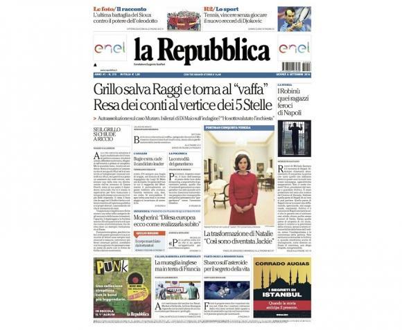 Conducerea unui partid populist din Italia a jignit jurnaliștii