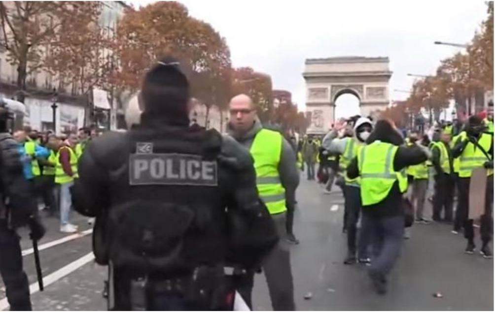 Propaganda rusă alimentează protestele din Franța