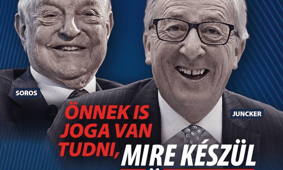 Juncker și Soros, persoanjele unei noi campanii de dezinformare orchestrată de Orban. Reacțiile Comisiei Europene