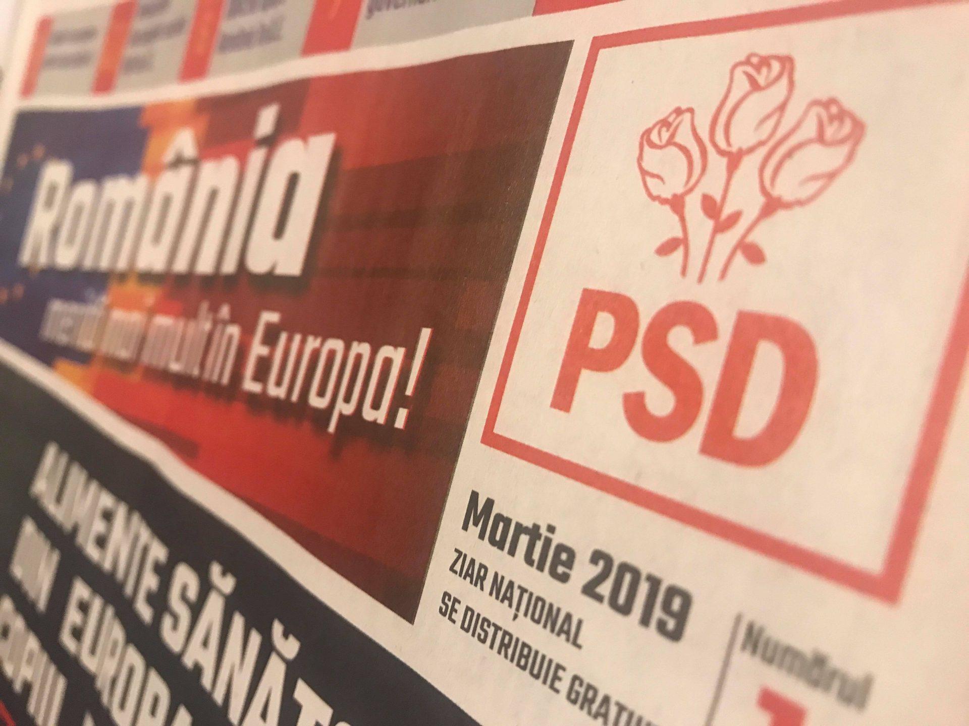 Ce conține ziarul de campanie al PSD, livrat de Poșta Română