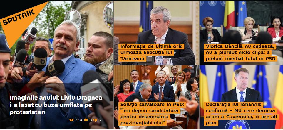 Delir marca Sputnik după dezastrul PSD-ALDE la scrutinul european. Românii, certați pentru modul în care au votat
