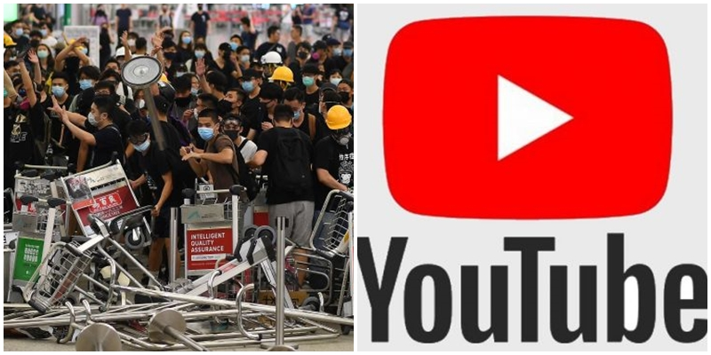 210 canale de YouTube care duceau o campanie de propagandă privind protestele din Hong Kong, eliminate de Google