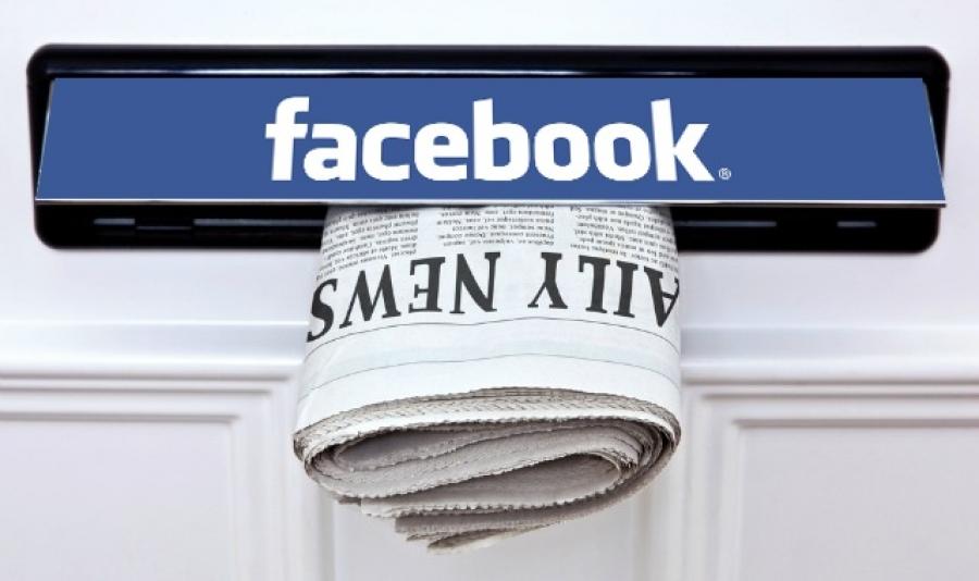 Facebook se joacă de-a salvatorul presei și nu prea-i iese