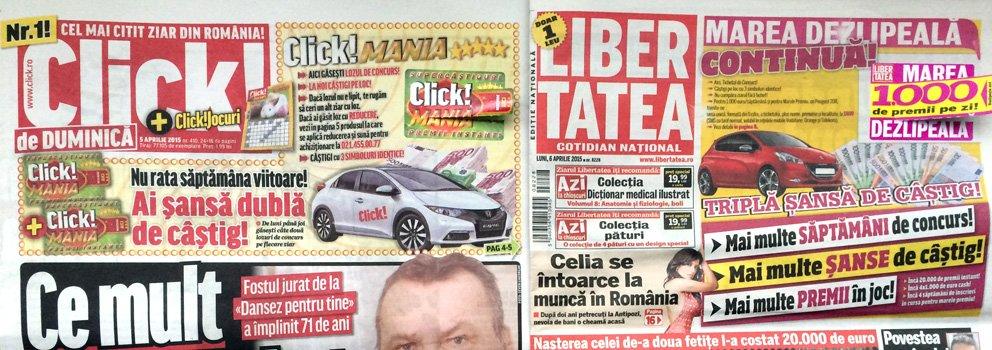 Rețeta de succes a presei tabloid. Cum de au rezistat publicațiile de scandal celor mai negre timpuri
