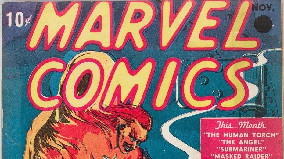 Editiadedimineata.ro: Prima bandă desenată Marvel, vândută la un preț record