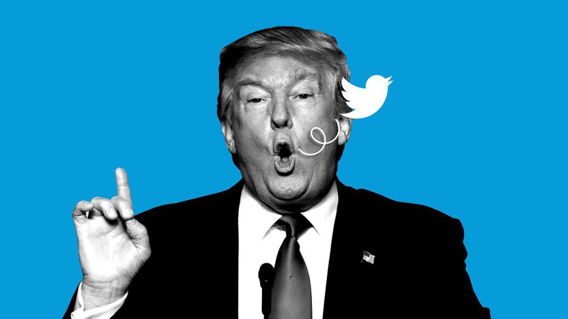 Donald Trump, campion la tweet-uri. Președintele american și-a doborât propriul record de pe Twitter
