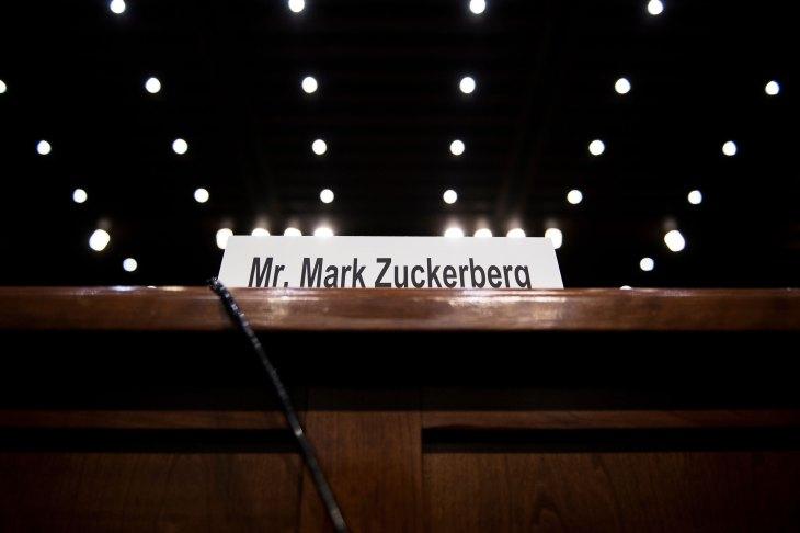 Audierea lui Zuckerberg din Congresul SUA amână publicarea raportului privind încasările Facebook