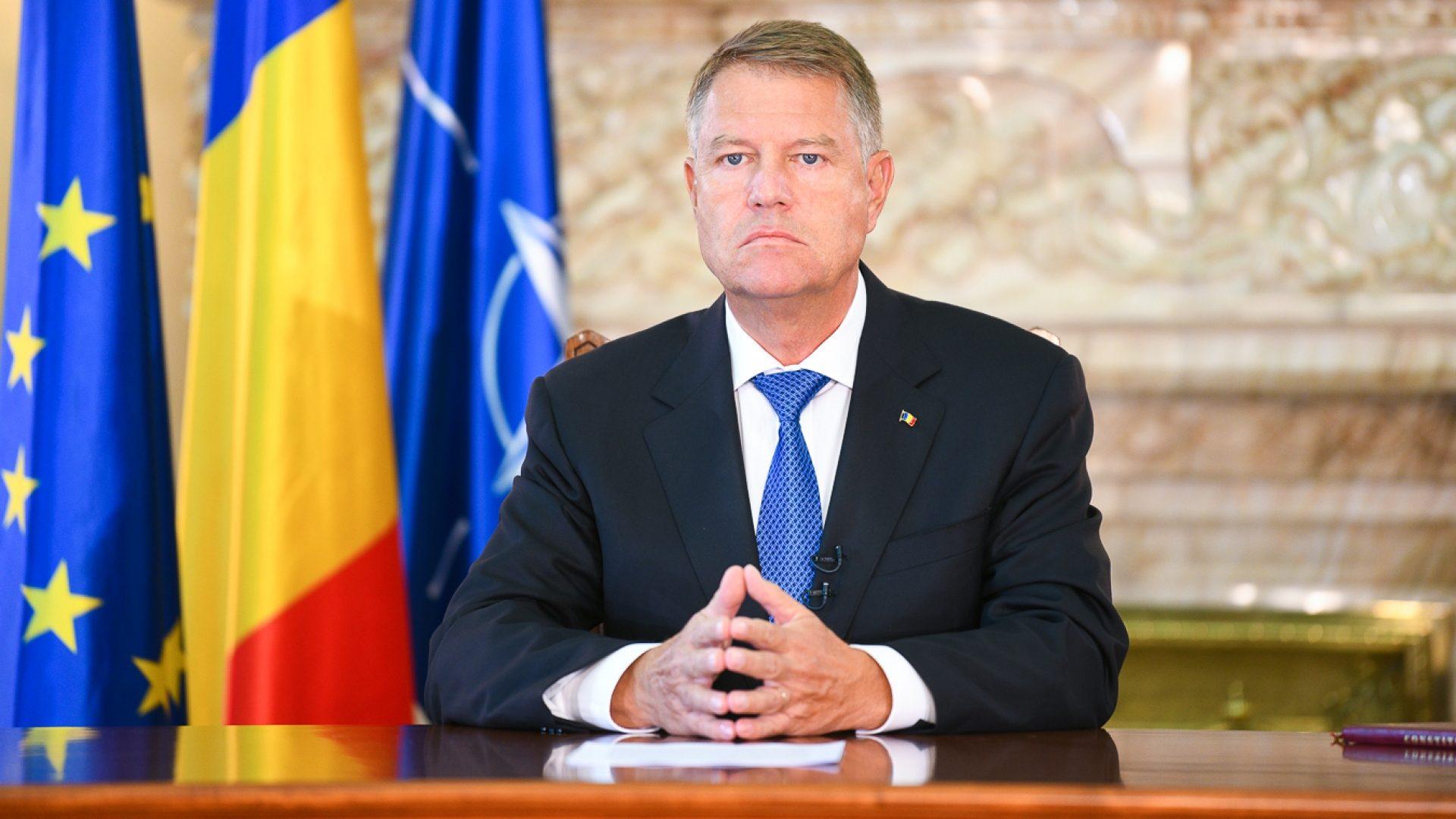 Iohannis anunță decretarea stării de urgență la începutul săptămânii viitoare