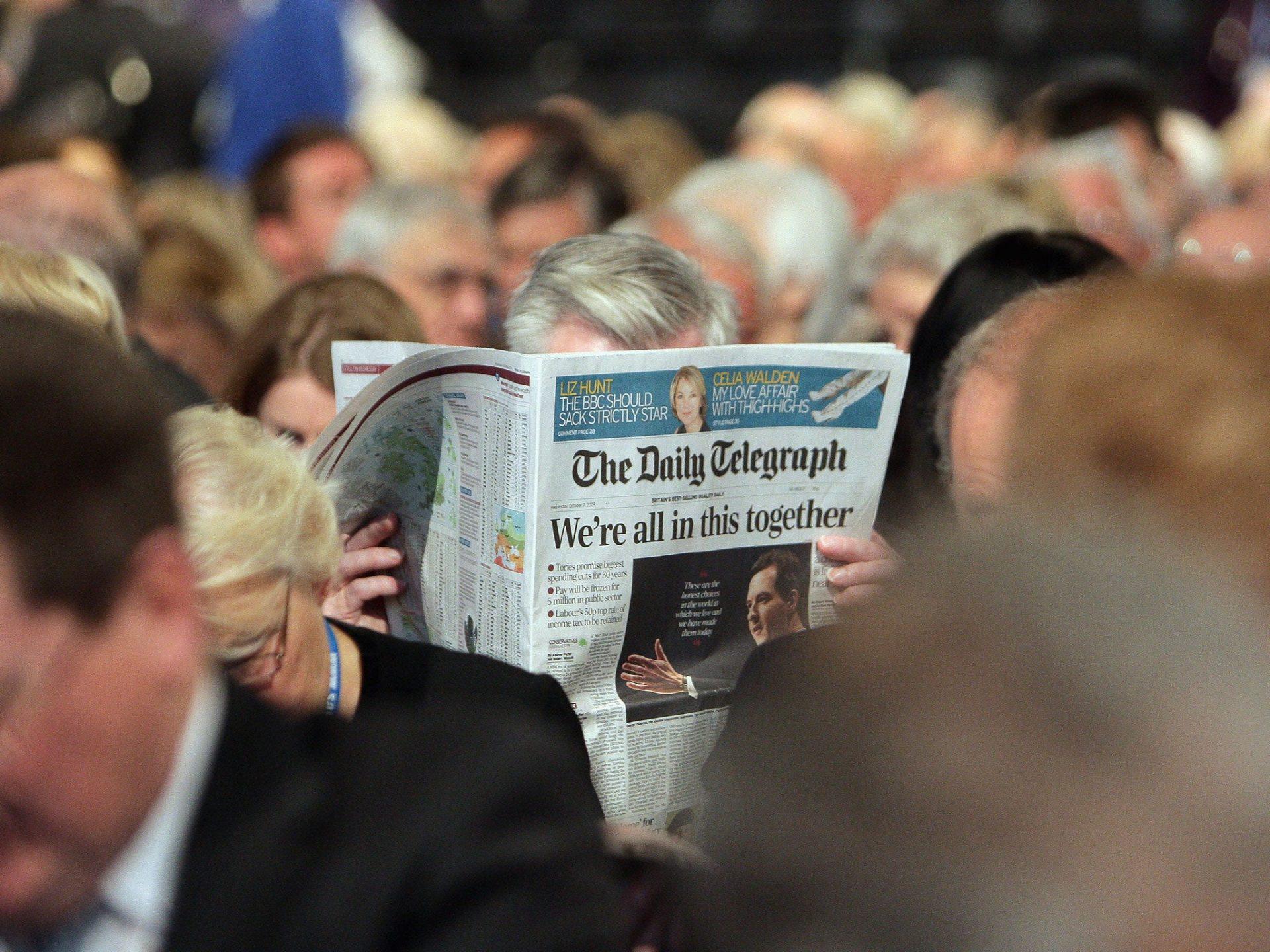The Daily Telegraph a renunțat la secțiunea plătită de presa de stat chineză
