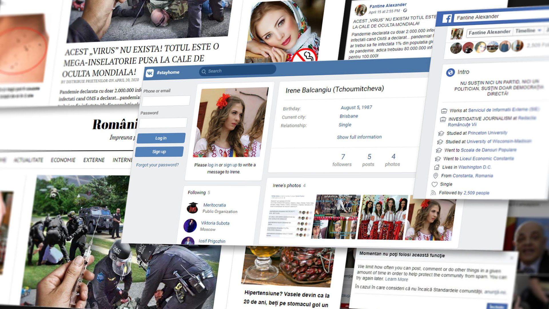 Câte identități poate avea un cont fals de Facebook? Cazul fetei cu ie care promovează teorii ale conspirației