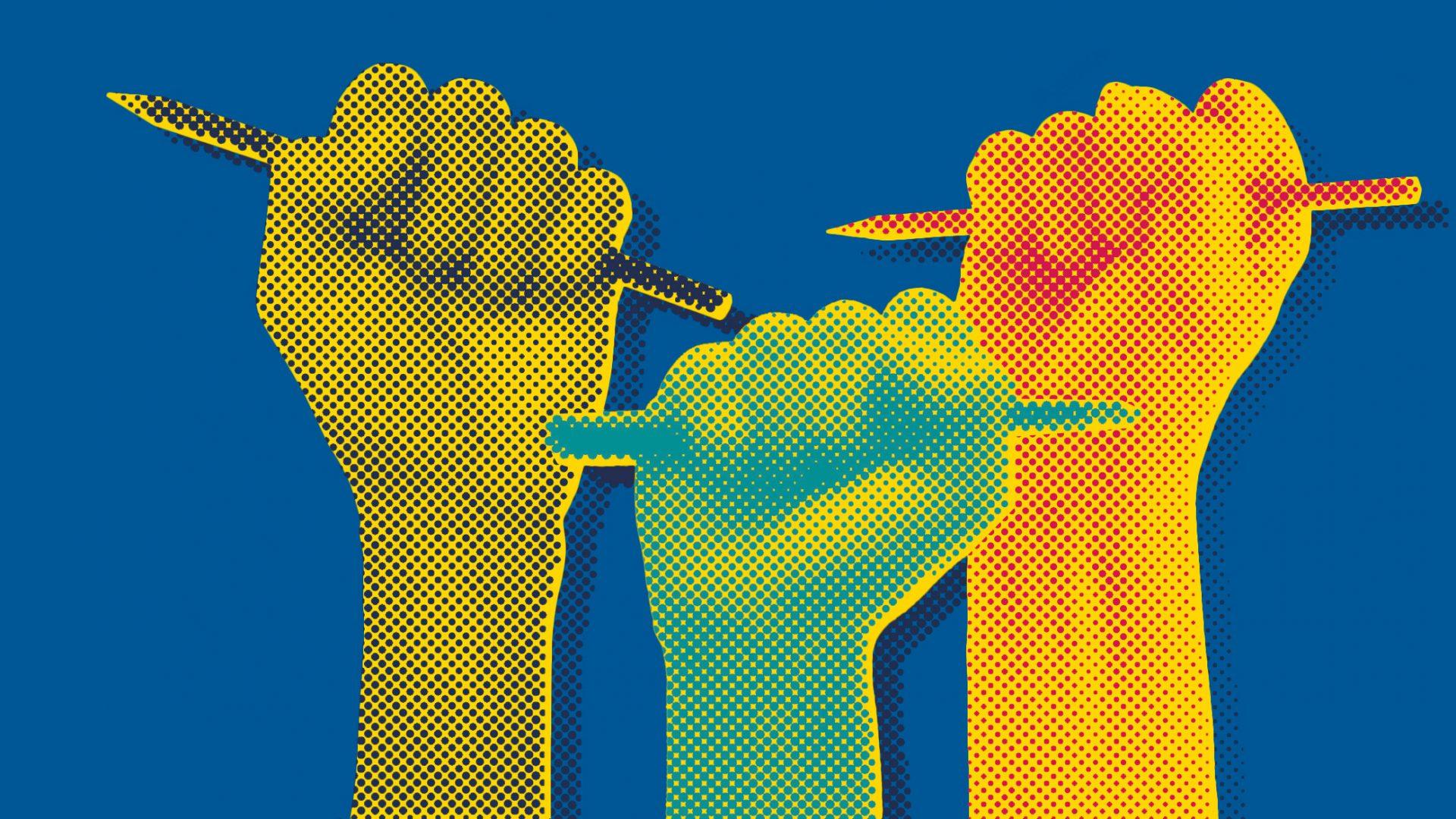 Libertatea presei, pusă în pericol de slăbirea statului de drept și violență. Urmează o perioadă decisivă pentru jurnalism