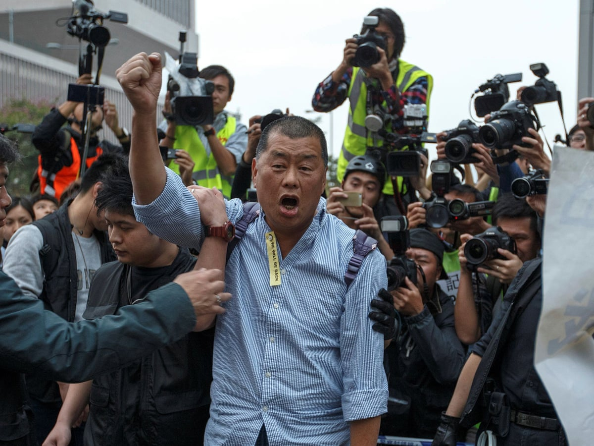 Autoritățile chineze au arestat un magnat de presă din Hong Kong, susținător al protestelor pentru libertate
