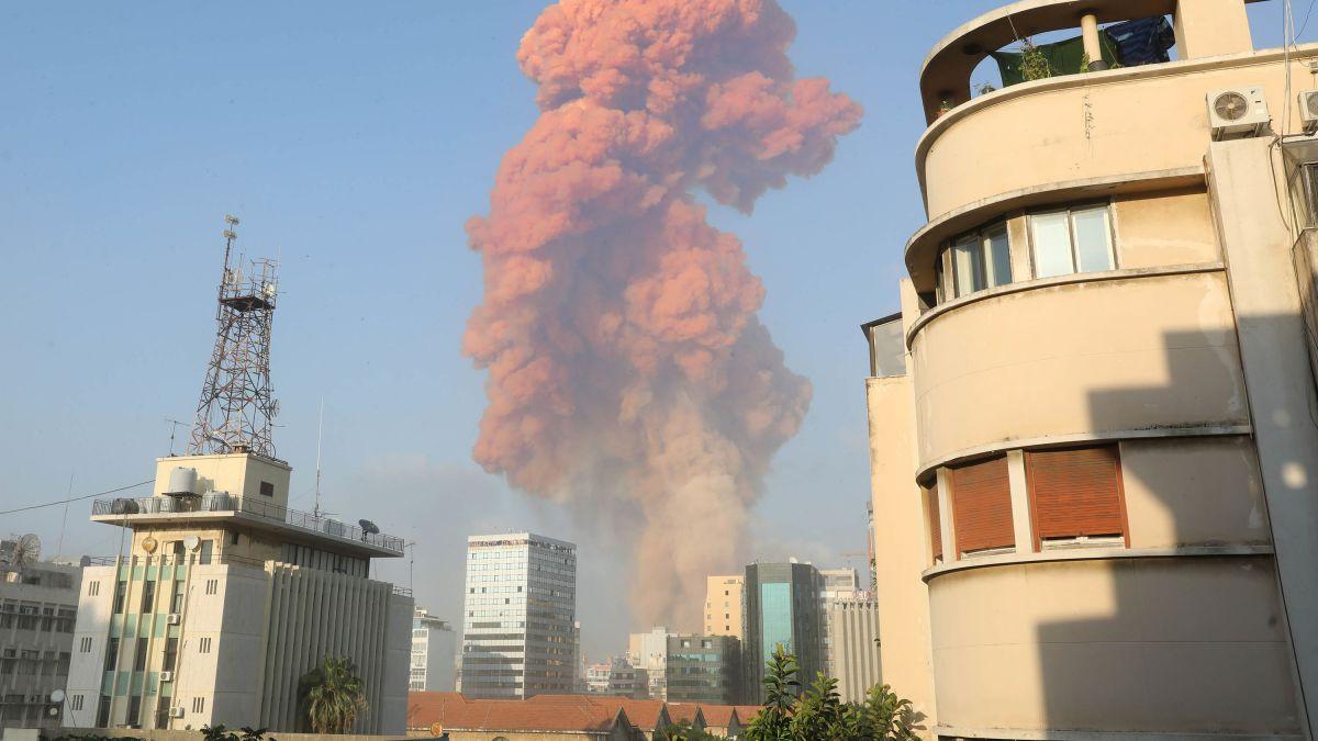Editiadedimineata: Coșmar la Beirut. Explozii uriașe au distrus portul, ucis zeci de oameni, rănit alte mii și produs enorme pagube materiale