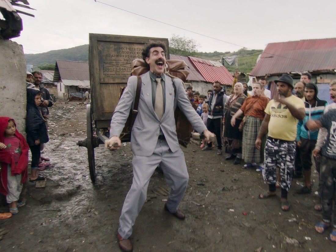 """""""Very nice!"""". Kazahstanul a adoptat sloganul din filmul Borat într-o campanie de turism"""