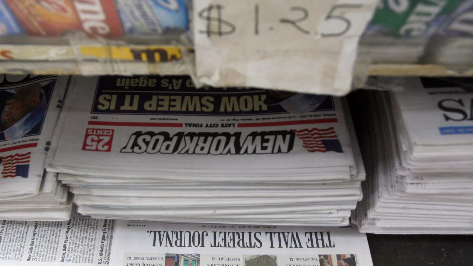 Jurnaliștii New York Post nu ar fi vrut să își pună numele pe știrea despre mail-urile lui Hunter Biden