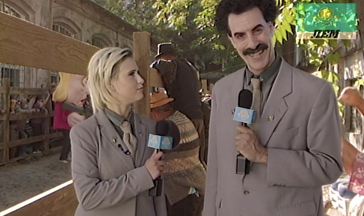 """Noul film cu """"Borat"""": instrucțiuni în română, muzică de Bregovic, romi de la noi și umorul specific"""