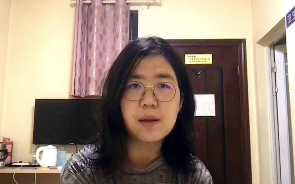 Jurnalista chineză Zhang Zhan este judecată pentru că a relatat despre Covid-19 în Wuhan
