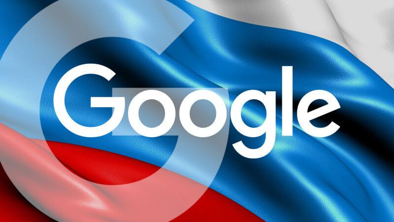 Rusia amendează Google pentru că n-a îndepărtat conținutul interzis