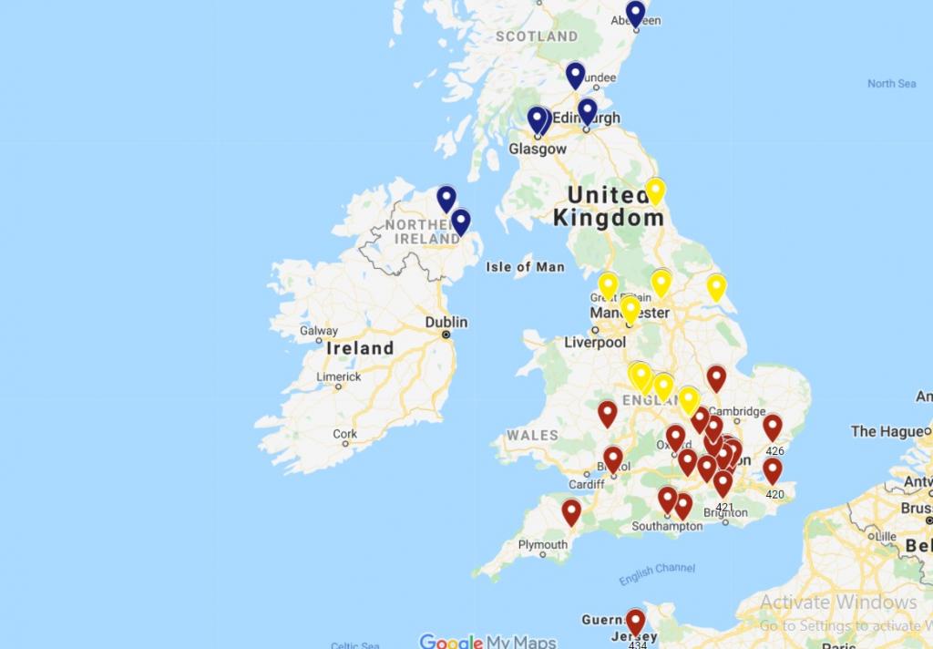 Site-ul Sputnik a publicat adrese greșite ale secțiilor de votare din Marea Britanie