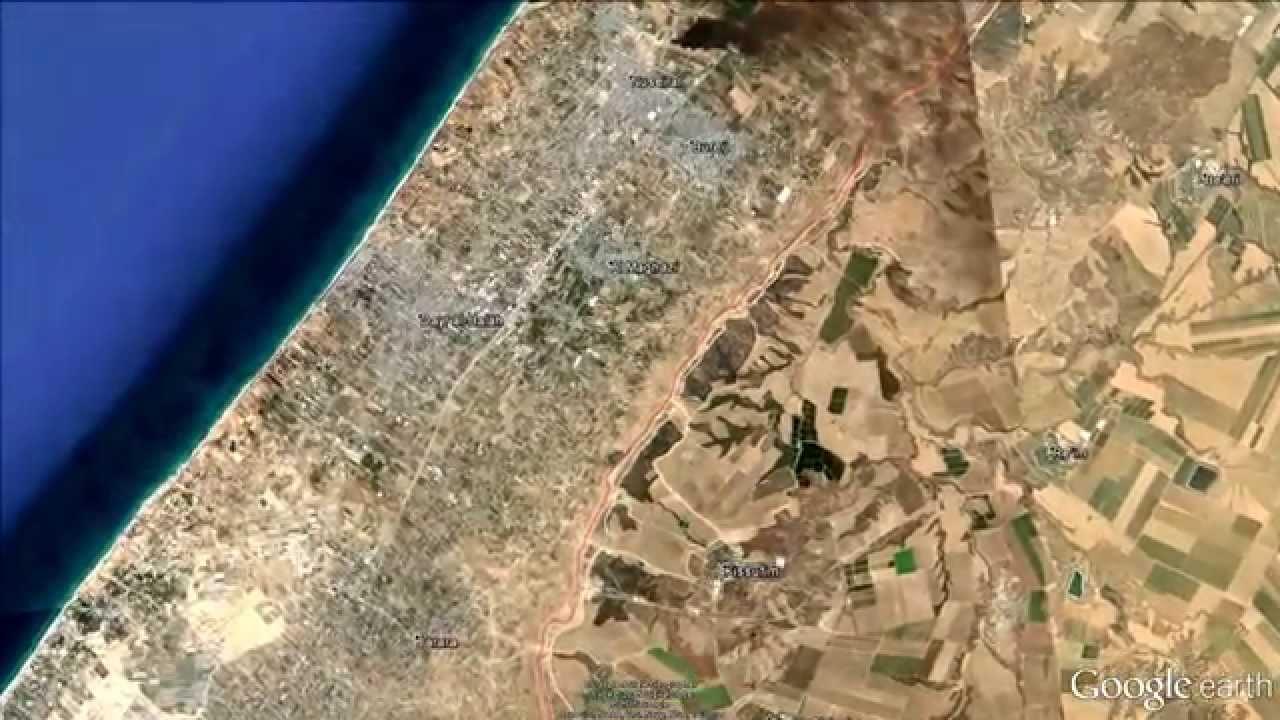 De ce imaginile din satelit cu Fâșia Gaza sunt blurate pe Google