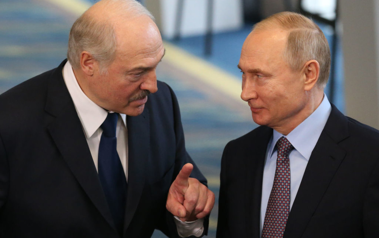 Declarațiile Kremlinului susțin scenariul expus de Belarus. Vladimir Putin se va întâlni joi cu Lukașenko