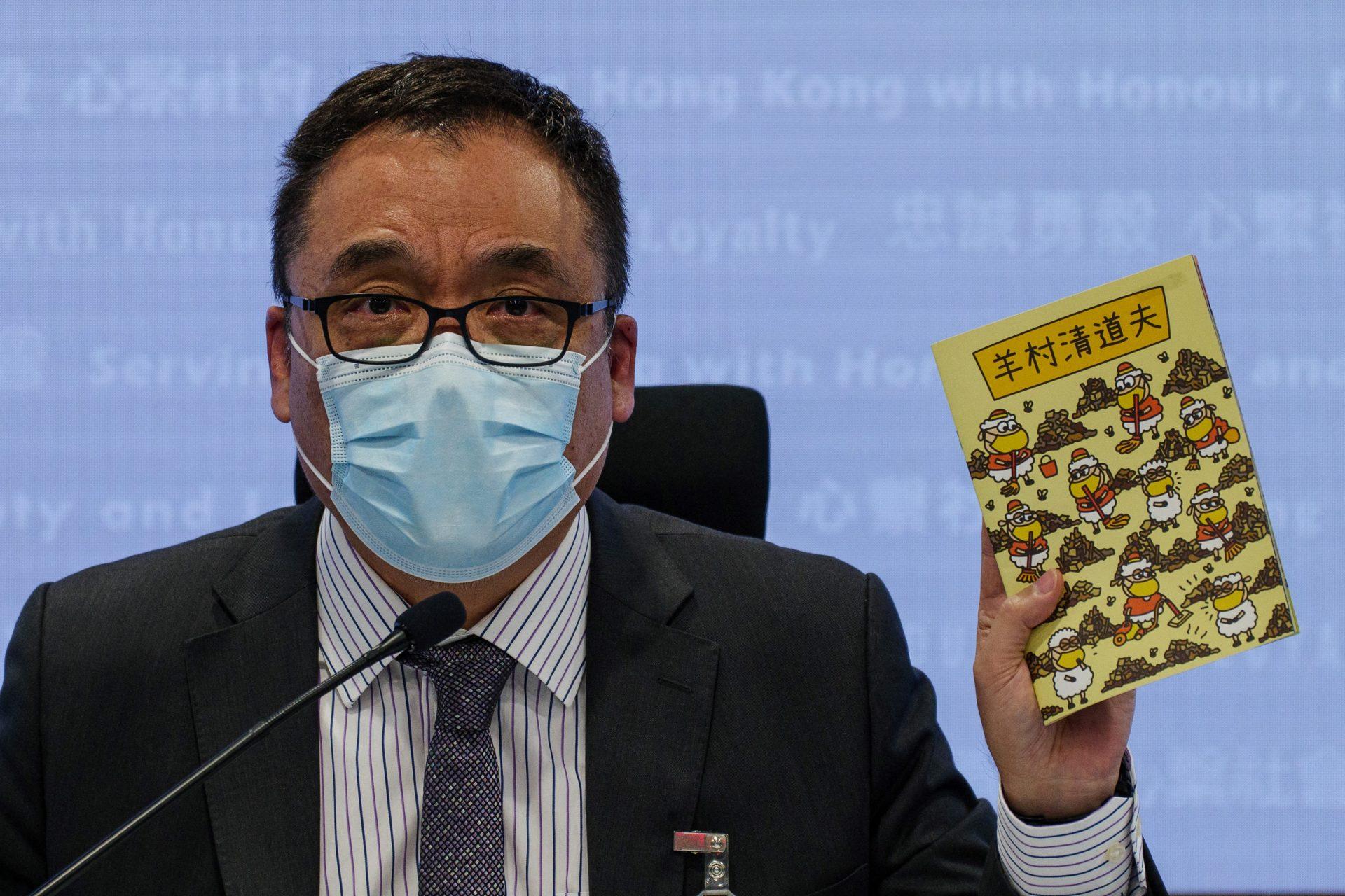 Hong Kong: poliția a arestat cinci persoane pentru că au publicat povești cu oi și lupi