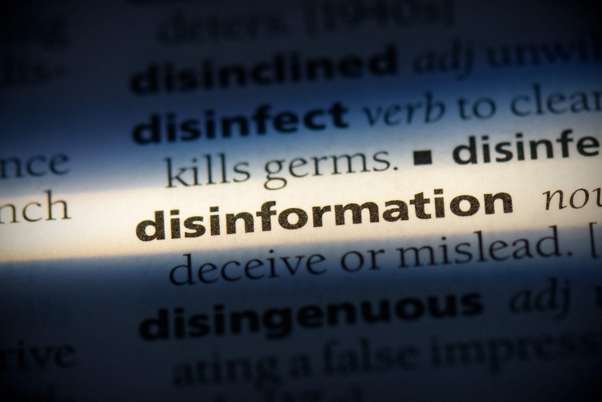 Diferențele dintre disinformation și misinformation. Un scurt ghid de înțelegere a nuanțelor dezinformării