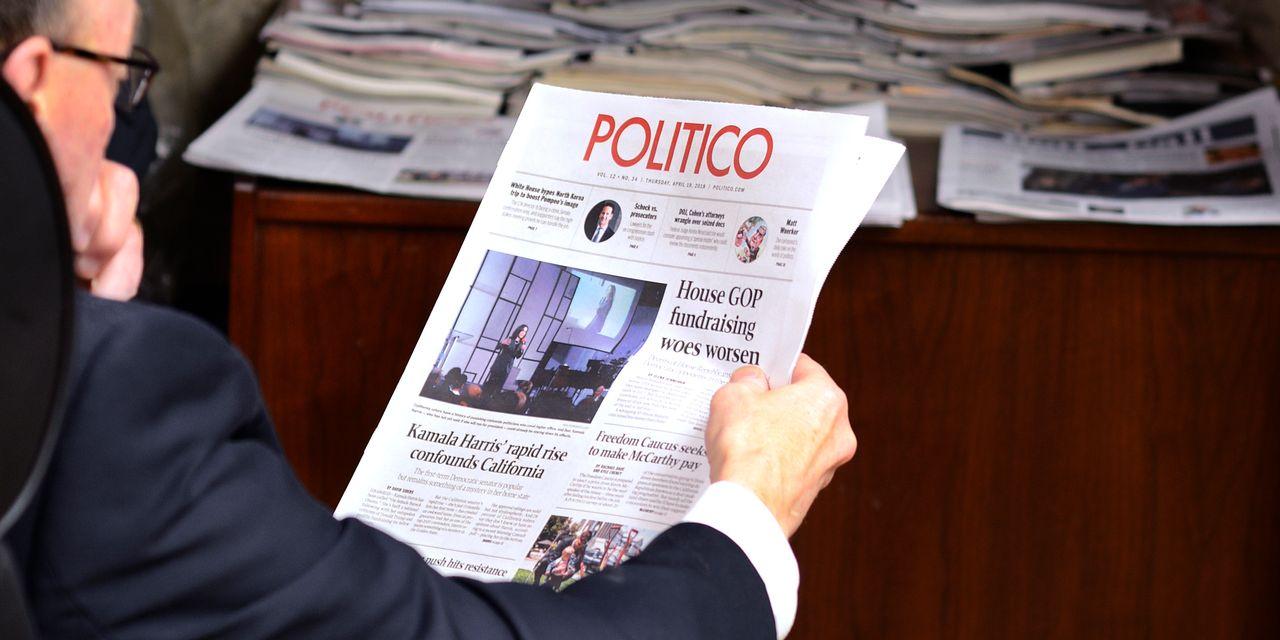 Publicația Politico va fi cumpărată de grupul german Axel Springer