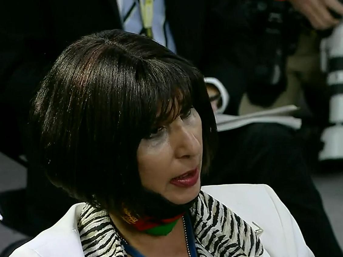 Reacția emoționantă a unei jurnaliste afgane, în timpul conferinței de presă de la Pentagon