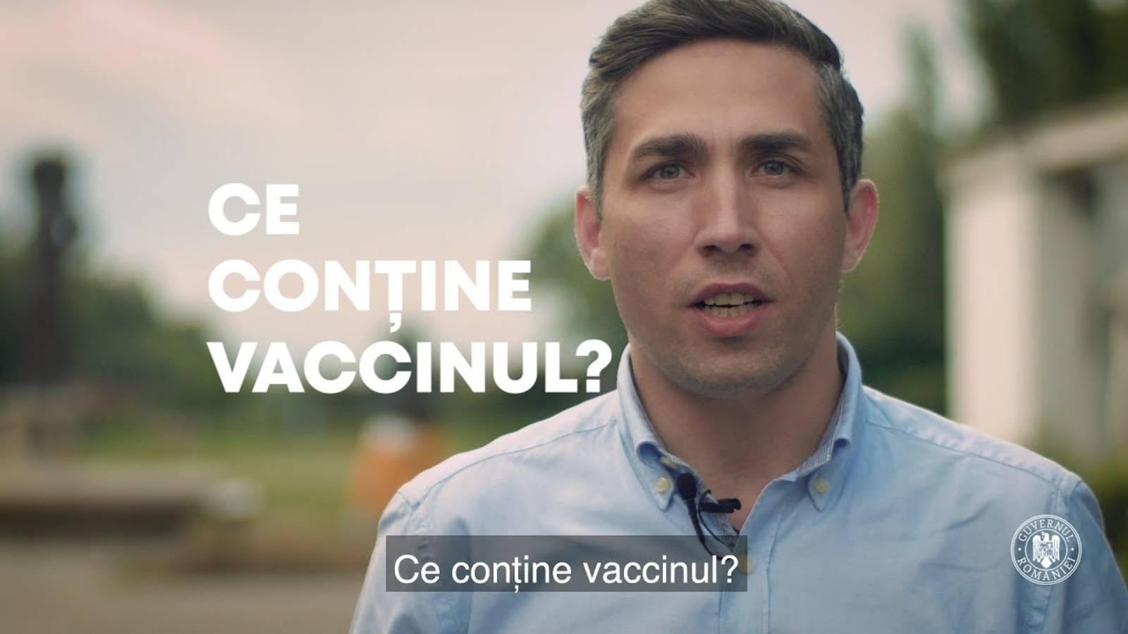 Spoturile guvernamentale despre vaccin, difuzate de televiziuni de aproape 20 de mii de ori