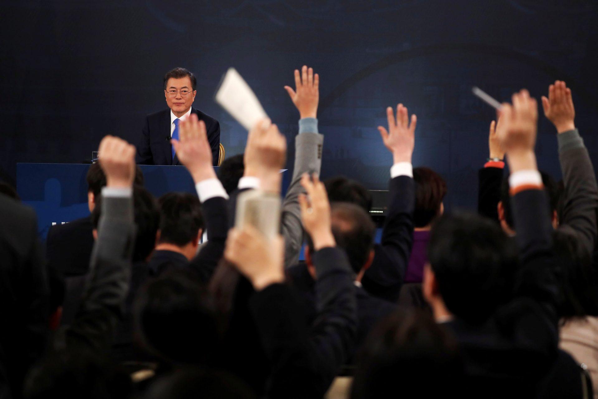 """Coreea de Sud s-ar putea alătură țărilor care au o lege împotriva """"fake news"""""""